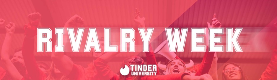 Tinder U Unleashes Rivalry Week