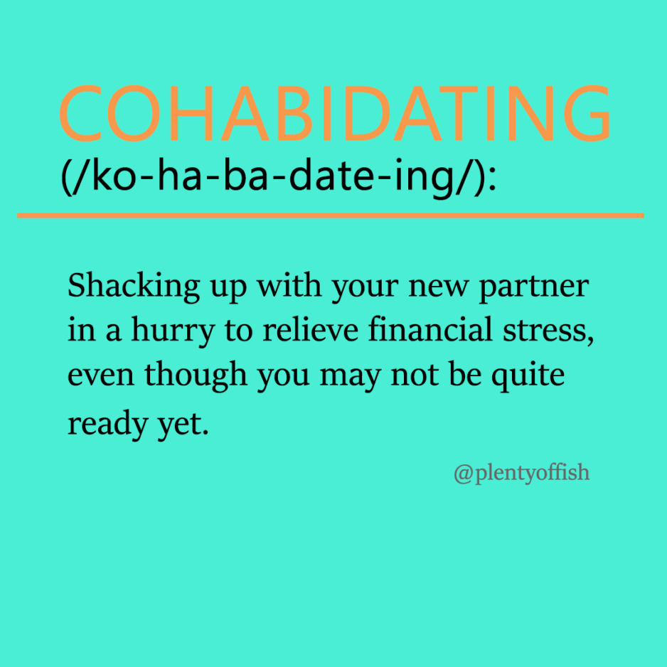 The 8 New Dating Trends You Need To Know Before The New Year: #2 Cohabidating