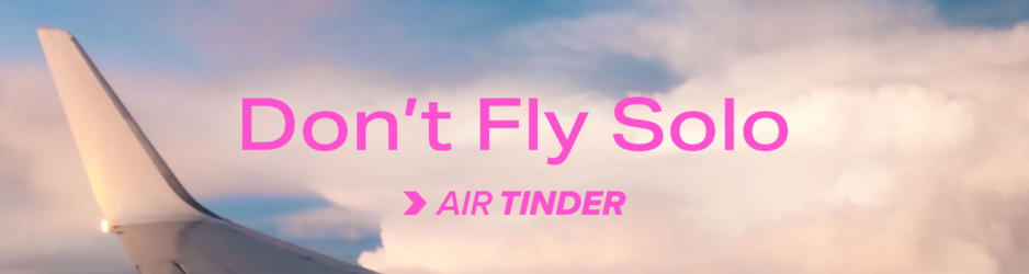 Now Boarding >> Air Tinder
