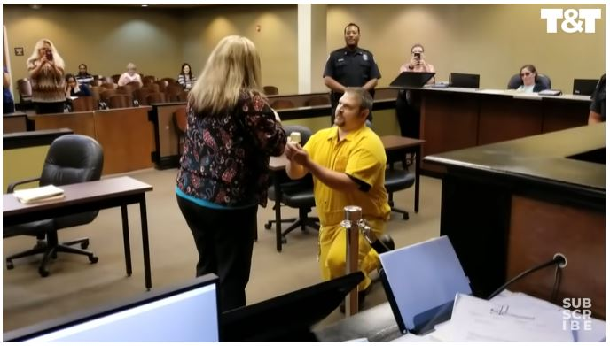 The Most Epic Proposal We've Seen Yet – Probation Officer Stunned as Her Boyfriend Proposes in Shackles!